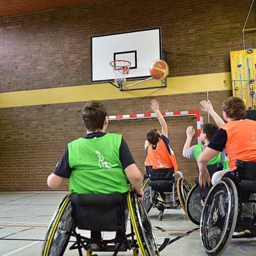 Rollstuhlbasektball – Inklusion an hessischen Schulen